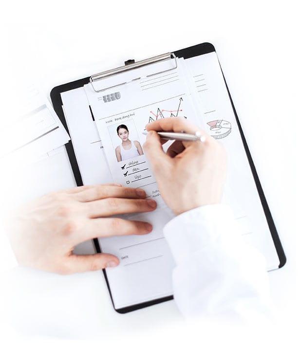 患者のケース分析データ